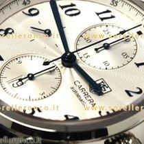 TAG Heuer Carrera Calibre 16 CAS2111.FC6292 TAGHEUER Silver Dial Blue number Crono 2020 neu