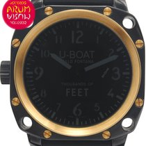 U-Boat Thousands of Feet Steel 50mm Black