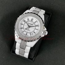 Chanel J12 Ceramic 38mm White Arabic numerals United States of America, New York, New York
