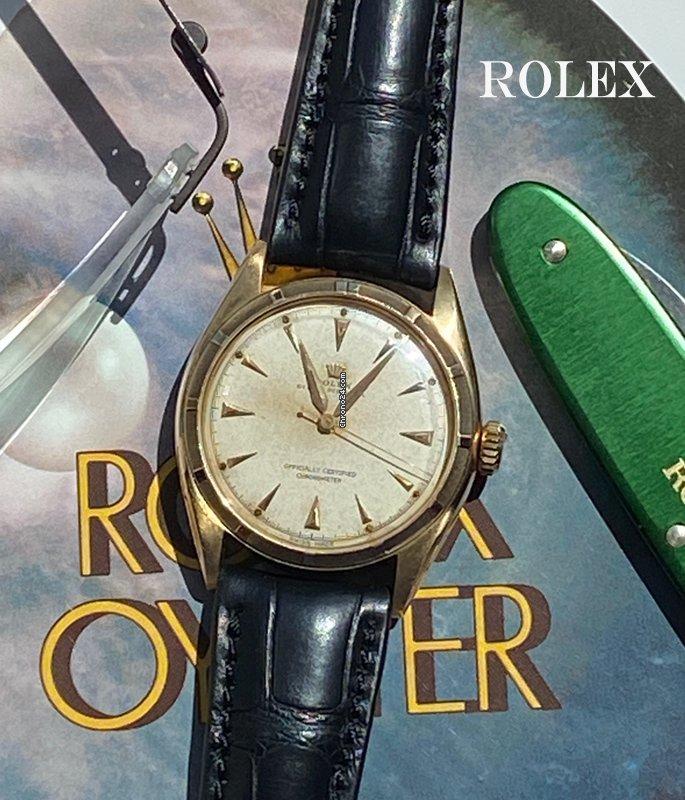 Rolex Bubble Back 6085 1951 pre-owned
