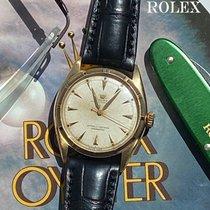Rolex Bubble Back Yellow gold 35mm Silver No numerals
