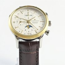 Maurice Lacroix Les Classiques Chronographe LC6078-YS101-13E Ny Guld/Stål 41mm Automatisk