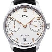 IWC Portuguese Automatic Steel 42,3mm Silver Arabic numerals