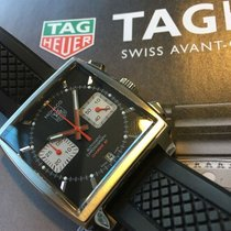 TAG Heuer Monaco Calibre 12 CAW2114.FT6021 TAGHEUER Monaco RACING Black with Red Details 2020 new
