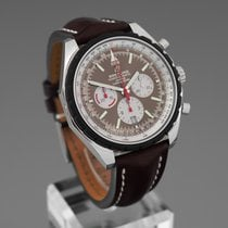 Breitling Chrono-Matic 49 Steel 49mm Brown No numerals