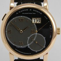 A. Lange & Söhne Red gold Manual winding pre-owned Grand Lange 1