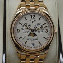 Patek Philippe Annual Calendar Rose gold 39.5mm White Arabic numerals United States of America, New York, New York