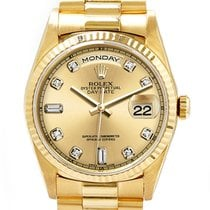 Rolex Yellow gold Day-Date 36mm pre-owned United States of America, California, Glendale