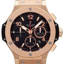 Hublot Red gold Automatic Black Arabic numerals 44mm new Big Bang 44 mm
