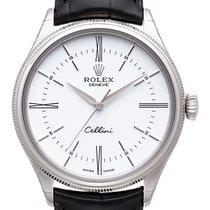 Rolex Cellini Time Weißgold 39mm Silber Keine Ziffern Deutschland, Bietigheim-Bissingen