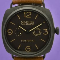 Panerai Manual winding Brown Arabic numerals 47mm pre-owned Special Editions