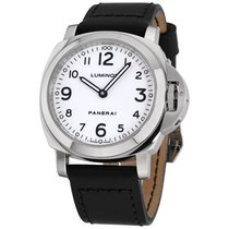 Panerai Luminor Base pre-owned 44mm White Leather
