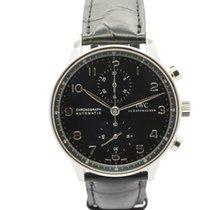 IWC Portuguese Chronograph новые Автоподзавод Часы с оригинальными документами и коробкой IW371447