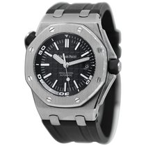 Audemars Piguet Royal Oak Offshore Diver Steel 42mm Black No numerals United States of America, New York, Greenvale