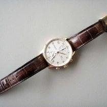 IWC Rotgold Automatik gebraucht Portugieser Chronograph