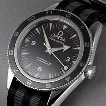 Omega Seamaster 300 Steel 41mm Black No numerals