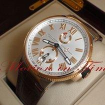 Ulysse Nardin 1185-122/41 Or/Acier Marine Chronometer Manufacture 45mm nouveau