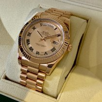 Rolex 218235 chcrp Oro rosa Day-Date II 41mm usados