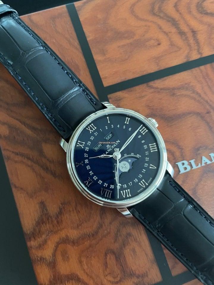 Blancpain (ブランパン) ヴィルレ クァンタム コンプリート 6654-1529-55B 2021 新品