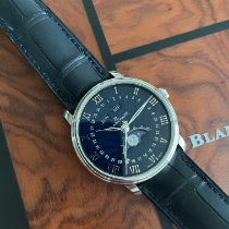 Blancpain Villeret Quantième Complet neu 2021 Automatik Uhr mit Original-Box und Original-Papieren 6654-1529-55B