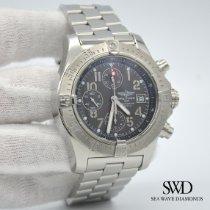 Breitling Avenger Skyland Steel 45mm Grey Arabic numerals United States of America, New York, New York