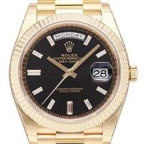 Rolex Day-Date 40 228238 Αφόρετο Κίτρινο χρυσό 40mm Αυτόματη