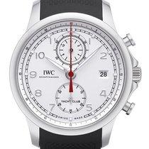 IWC Portuguese Yacht Club Chronograph новые 2020 Автоподзавод Хронограф Часы с оригинальными документами и коробкой IW390502