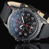 Victorinox Swiss Army AirBoss 241716 Victorinox Airboss Mach 9 45mm Nero Acciaio Cinturino Tessuto Nero 2020 nowość