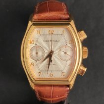 Girard Perregaux Rose gold Automatic Champagne Arabic numerals 36mm pre-owned Richeville