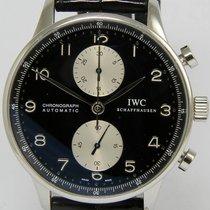 IWC Portuguese Chronograph Steel Black