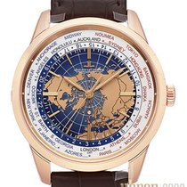 Jaeger-LeCoultre Geophysic Universal Time Oro rojo 41,6mm Azul Sin cifras