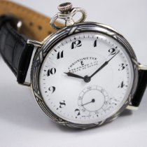 Eberhard & Co. Watch pre-owned 1920 Silver Manual winding Watch with original box and original papers