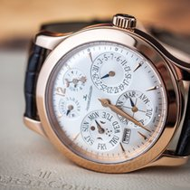 Jaeger-LeCoultre 146.2.26.S Rose gold 2008 Master Eight Days Perpetual 42 mm (45 mm with crown)mm pre-owned