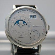 朗格 Grand Lange 1 鉑 41mm 銀色 羅馬數字