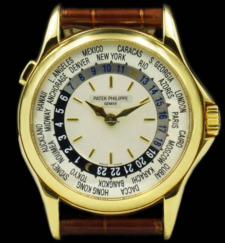 Patek Philippe World Time 5110J-001 2005 pre-owned