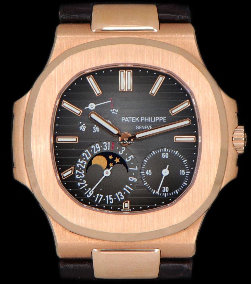 Patek Philippe Nautilus 5712R-001 2016 pre-owned