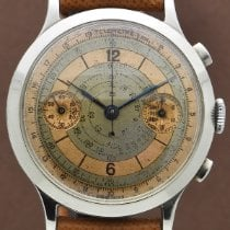 Eberhard & Co. Steel 40mm Manual winding pre-owned United States of America, New York, New York