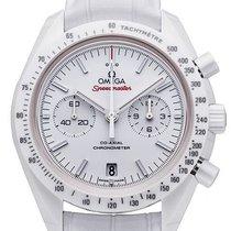 Omega Speedmaster Professional Moonwatch Ceramic 44,25mm White No numerals