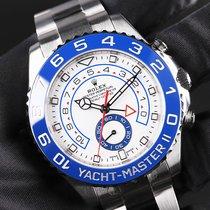 Rolex Yacht-Master II Acciaio 44mm Bianco Arabi Italia, VI - VICENZA
