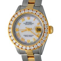 Rolex Lady-Datejust Acero 25mm Madreperla Romanos