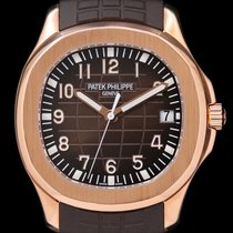Patek Philippe Rose gold Automatic Brown 40mm pre-owned Aquanaut