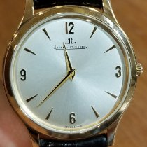 Jaeger-LeCoultre Red gold Manual winding Champagne Arabic numerals 34 x 36mm pre-owned Master Control