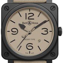 Bell & Ross BR 03 BR0392-DESERT-CE Neu Keramik 42mm Automatik