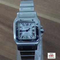 Cartier Santos Galbée Stahl 24mm Silber Römisch Deutschland, Niederbayern