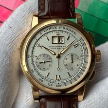 A. Lange & Söhne Red gold Manual winding 39mm pre-owned Datograph