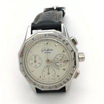 Glashütte Original Senator Chronograph Steel White No numerals