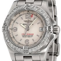 Breitling Colt Oceane Steel 33mm Silver Arabic numerals United States of America, New York, NEW YORK CITY
