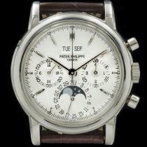 Patek Philippe Perpetual Calendar Chronograph Platinum Silver United States of America, New York, New York