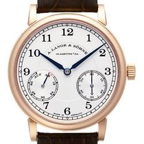A. Lange & Söhne Red gold Manual winding Silver (solid) Arabic numerals 39mm new 1815