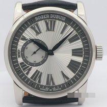Roger Dubuis Hommage Aur alb 42mm Argint